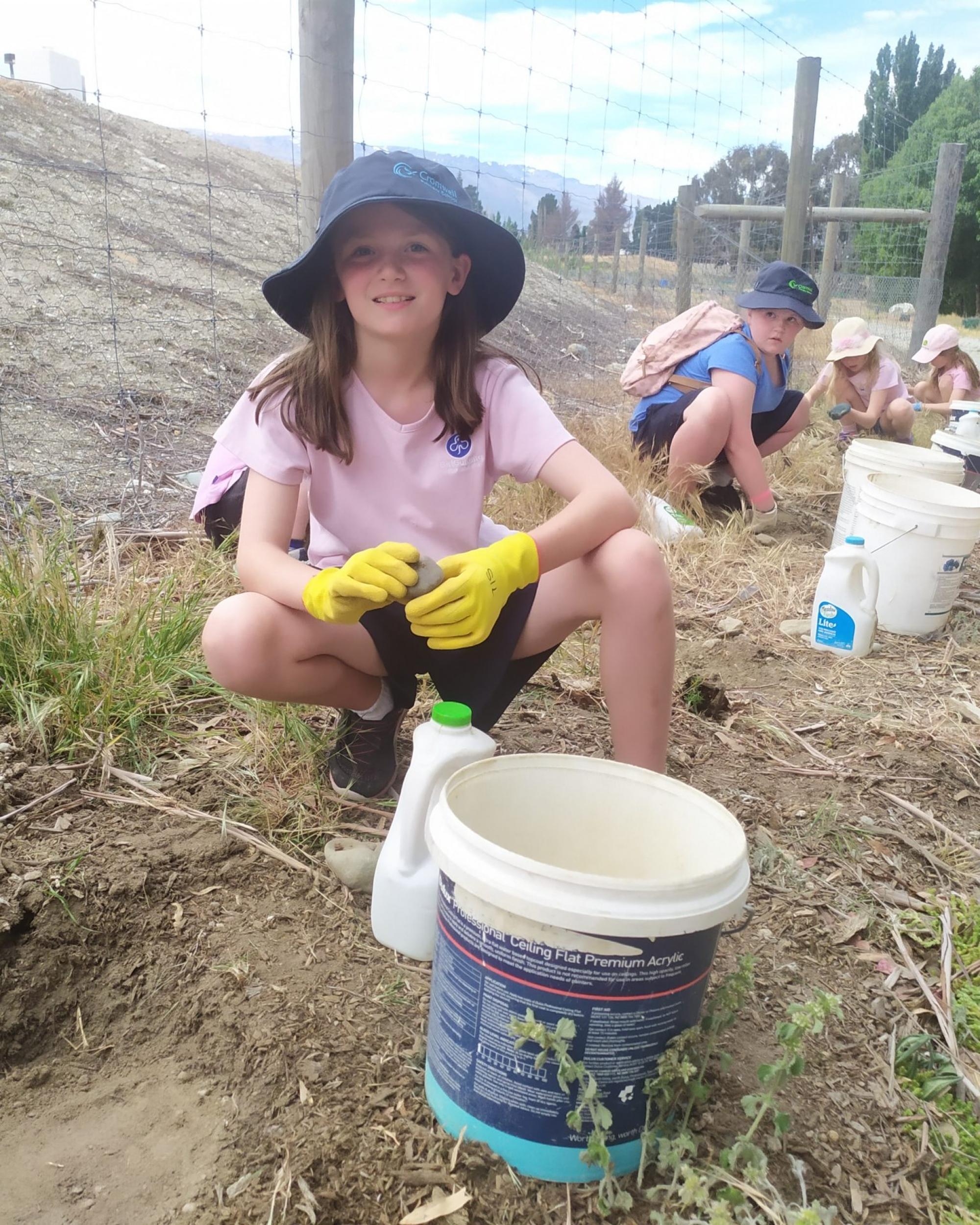 Brownies Planting Educational Visit