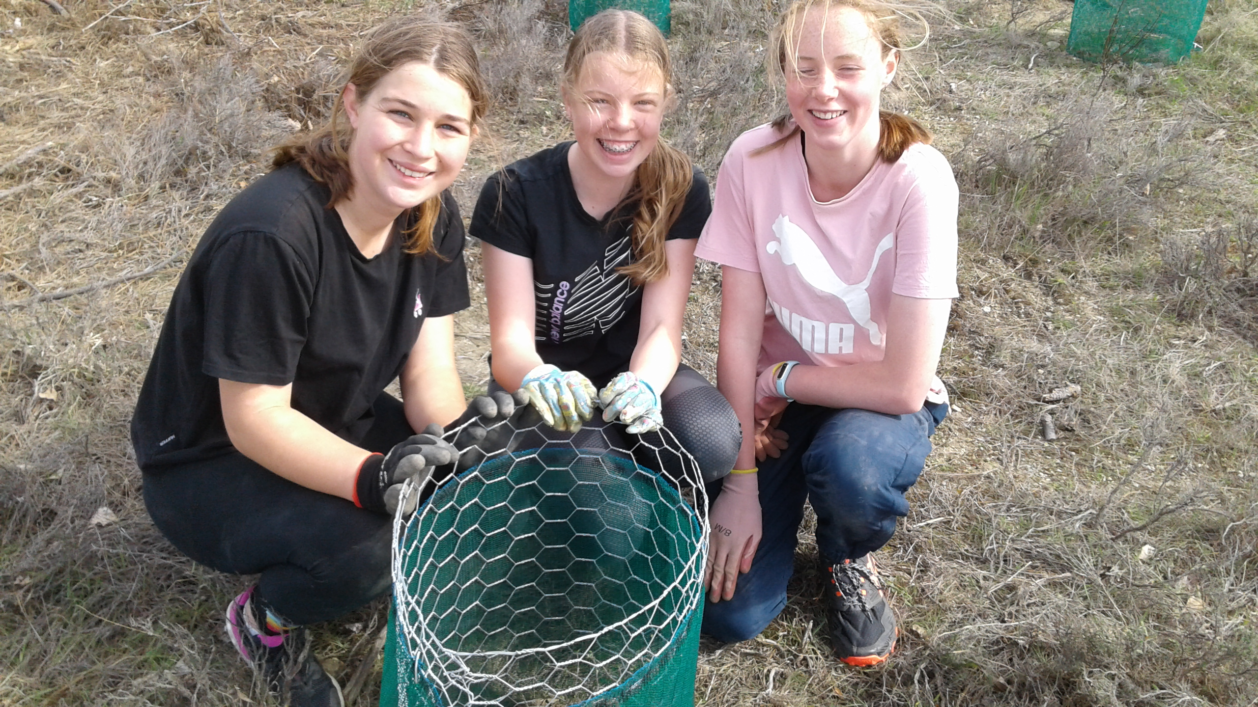 proud moment planting our 5000th native plant